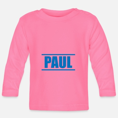 Presenteren Presenteer je voornaam - Paul! - T-shirt