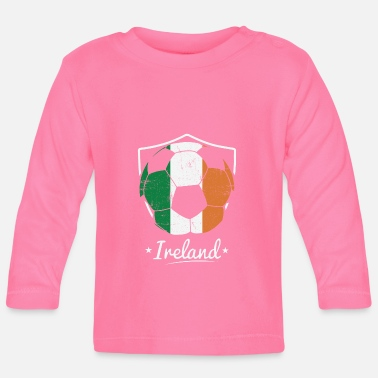 Ireland Soccer Team Club - Baby Langarmshirt