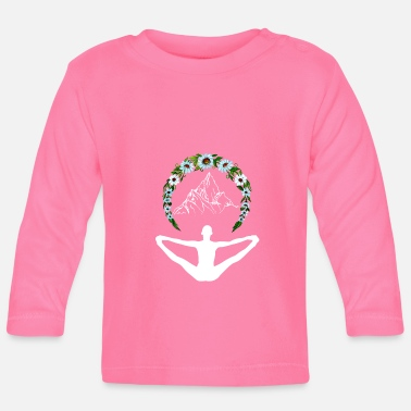 Enlightened Yoga as enlightenment - Baby Long Sleeve T-Shirt
