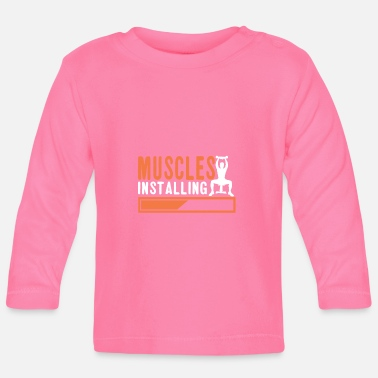 Installation Muscles Installation - T-shirt manches longues Bébé