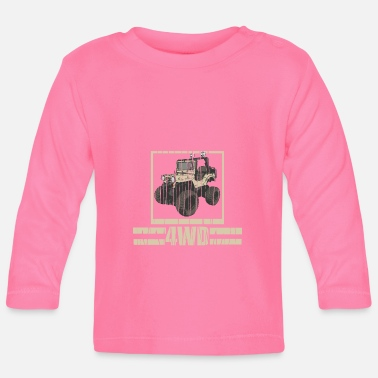 Jeep 4wd jeep - Baby Long Sleeve T-Shirt
