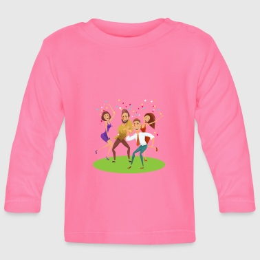 Celebrate celebration - Baby Long Sleeve T-Shirt