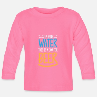 Cerveza divertida regalo agua tienda de cerveza Stark - Camiseta de manga  larga bebé b066bece5eadc