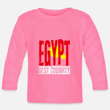 Egypt best country - Baby Longsleeve Shirt