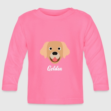 Golden Retriever Golden - Golden Retriever - T-shirt manches longues Bébé