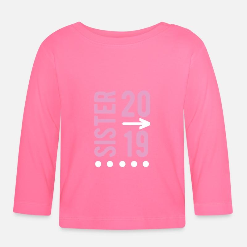 Baby Longsleeve ShirtSister 2019 Maternity Gift Pregnant