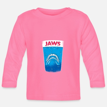 Jaws Jaws teeth - molars - Baby Longsleeve Shirt