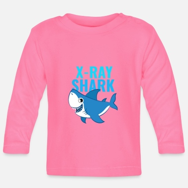 Xray XRay Shark Cute XRay Tech Design - Baby Longsleeve Shirt