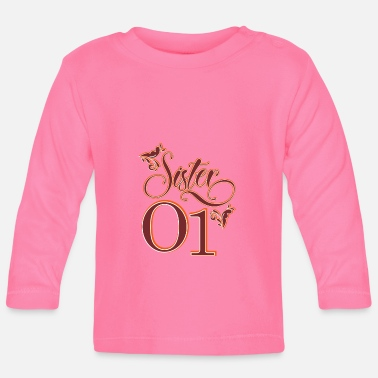 Siblings siblings - Baby Longsleeve Shirt