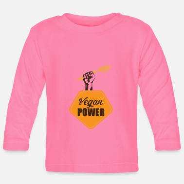 Health Vegan Power Health - T-shirt manches longues Bébé
