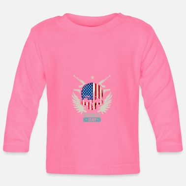 Patriot Patriots USA Patriots Day - Langarmet baby T-skjorte