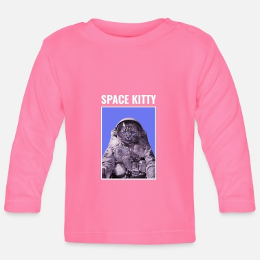 Space Kitty Astronaut Cat - Baby longsleeve
