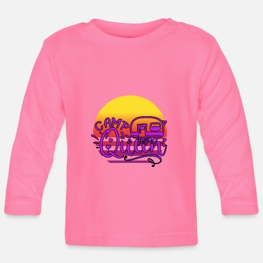 Pitch Camping Queen caravan - Baby Longsleeve Shirt