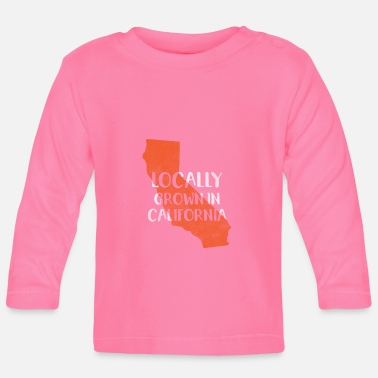 Californie Californie, Californie - T-shirt manches longues Bébé