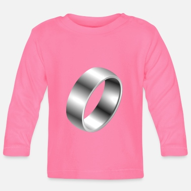 Silver Silver ring - Baby Longsleeve Shirt