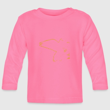 Golden golden bird - Baby Long Sleeve T-Shirt