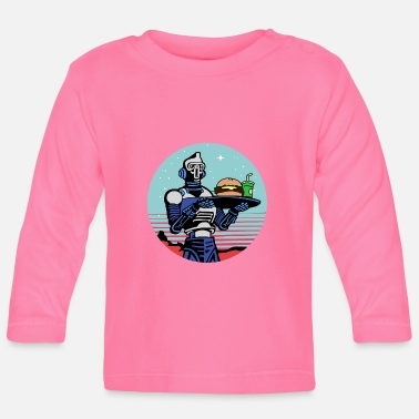 Meal Space Meal Force - Baby Longsleeve Shirt