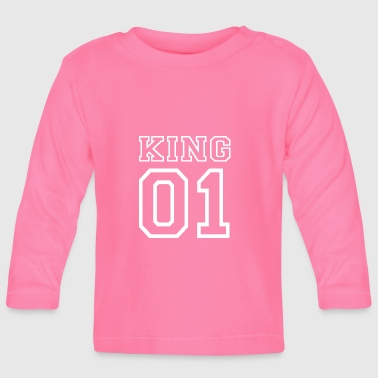 PARTNERSHIRT - KING 01 - Camiseta manga larga bebé