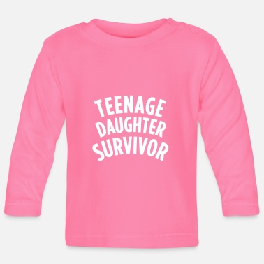 Teenager TEENAGE DAUGHTER SURVIVOR - Langarmet baby T-skjorte