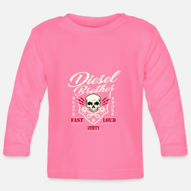 Diesel Brothers l Diesel Power Gear l Power Strok - Baby longsleeve