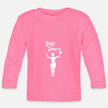 Belly Belly Danceer belly dancer with heart - Baby Long Sleeve T-Shirt