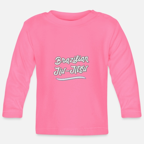Mma Baby Clothes - BJJ Men Women Brazilian JiuJitsu MMA Grappling - Baby Longsleeve Shirt azalea