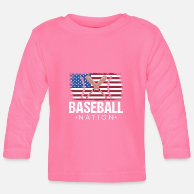 National Baseball nation - Baby Longsleeve Shirt