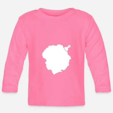 Afro Afro - Långärmad baby T-shirt