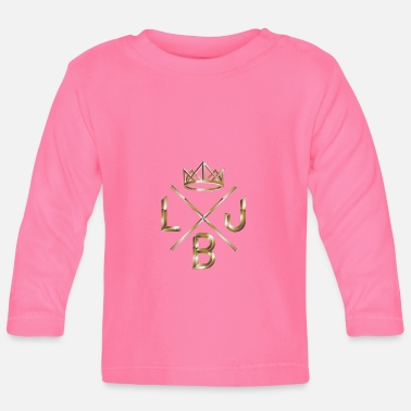 Crown LBJ crown crown - Baby Longsleeve Shirt