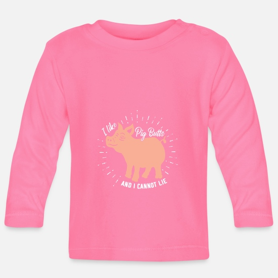 Gift Idea Baby Clothes - BBQ Barbeque Griller Barbecue Grill Barbecue season pig - Baby Longsleeve Shirt azalea