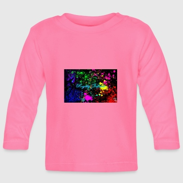 Paint Splatter Royalty Defined Paint Splatter - Baby Long Sleeve T-Shirt