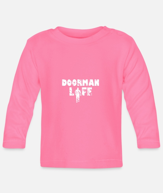 Birthday Baby Clothes - Bouncer Life T-Shirt & Gift Idea - Baby Longsleeve Shirt azalea