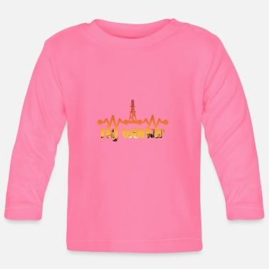 Oil Rig Workers Oil rig worker gift idea - Baby Longsleeve Shirt