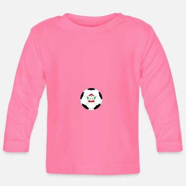 National Team Burundi national football team nation team - Baby Longsleeve Shirt