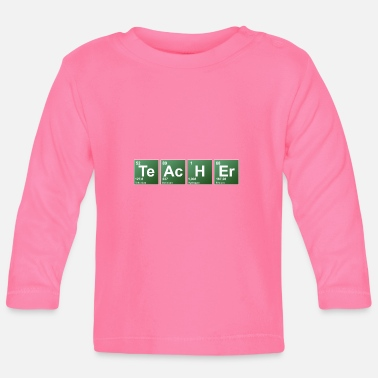 Periodic Table Teacher periodic table of elements - Baby Long Sleeve T-Shirt