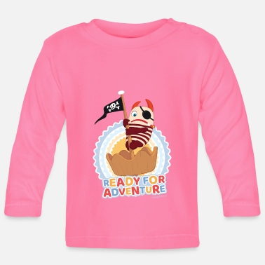 Flinte Sorgenfresser Flint Ready For Adventure - Baby Langarmshirt