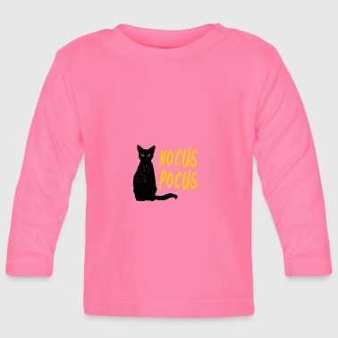 Hocus Pocus Halloween Cat - Baby Long Sleeve T-Shirt