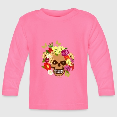 Colourful skull - Baby Long Sleeve T-Shirt