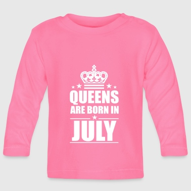 July - Baby Long Sleeve T-Shirt