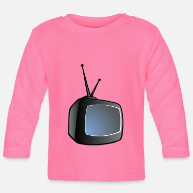 Tv TV - Camiseta manga larga bebé