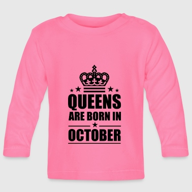 October - Baby Long Sleeve T-Shirt