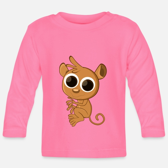 Cute Animals Baby Clothes - Cute animal - Baby Longsleeve Shirt azalea