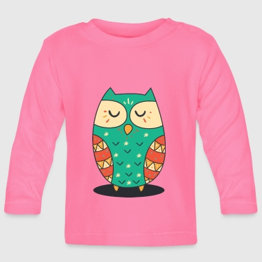 Cute Owl - Baby Long Sleeve T-Shirt