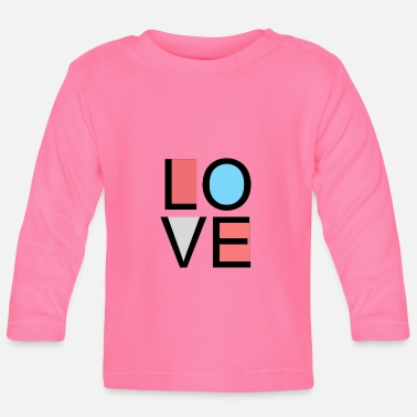Lovely love - Baby Long Sleeve T-Shirt