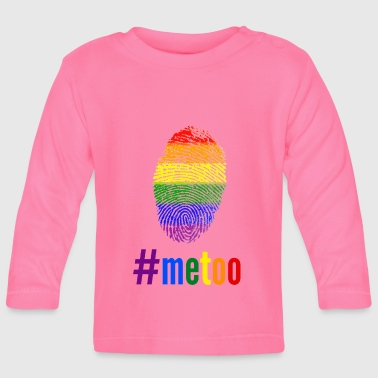 #MeToo gays against sexual assault - Baby Long Sleeve T-Shirt