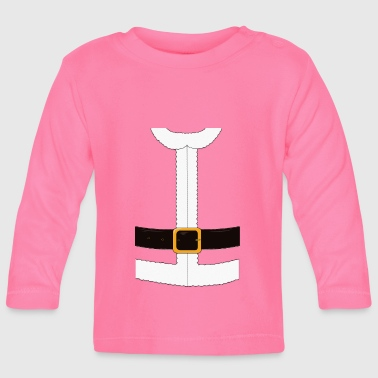 Funny Santa Claus / Christmas costume - Baby Long Sleeve T-Shirt