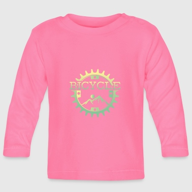 Mountain bike mountain biking mountains sun gift - Baby Long Sleeve T-Shirt
