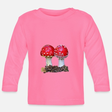 Two toadstools - Baby Longsleeve Shirt