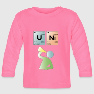 UNI periodic table - Baby Long Sleeve T-Shirt