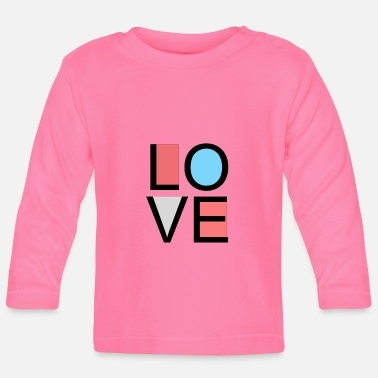 Lovely love - Baby Longsleeve Shirt